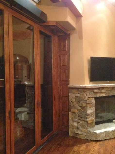custom nanawall enclosure door