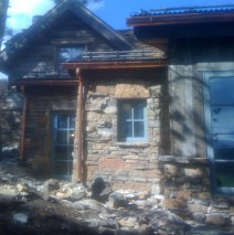 Highlands at Breckenridge – Carpentry on Timber Framing